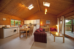 Portselma lodges - the interior of one of the lodges
